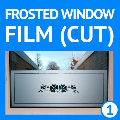 buy custom frosted window film