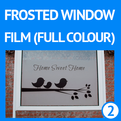 buy custom frosted window film cut