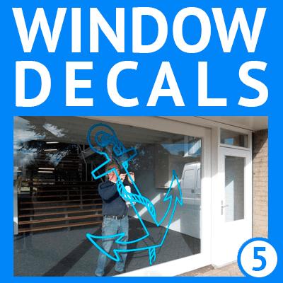 custom window decals