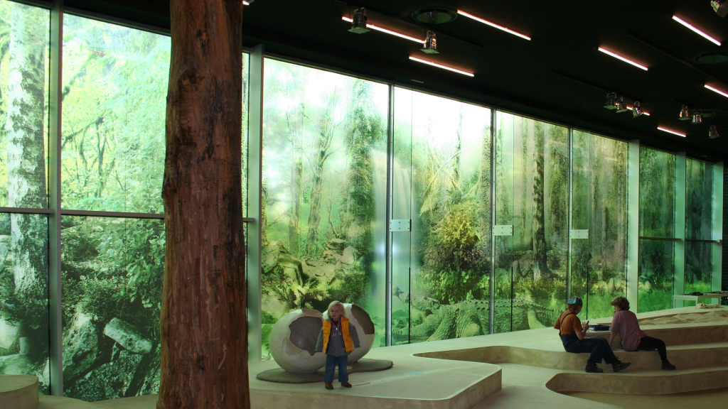 transparant window film, large, nature