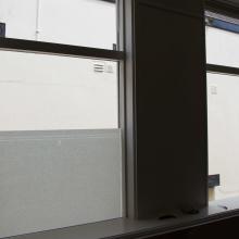Frosted window film (1) Applying window film