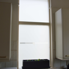 Frosted window film (1) Kitchen, personalised design