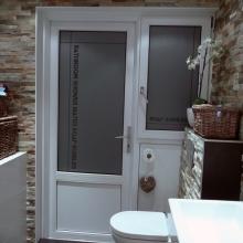 Frosted window film (1) Bathroom