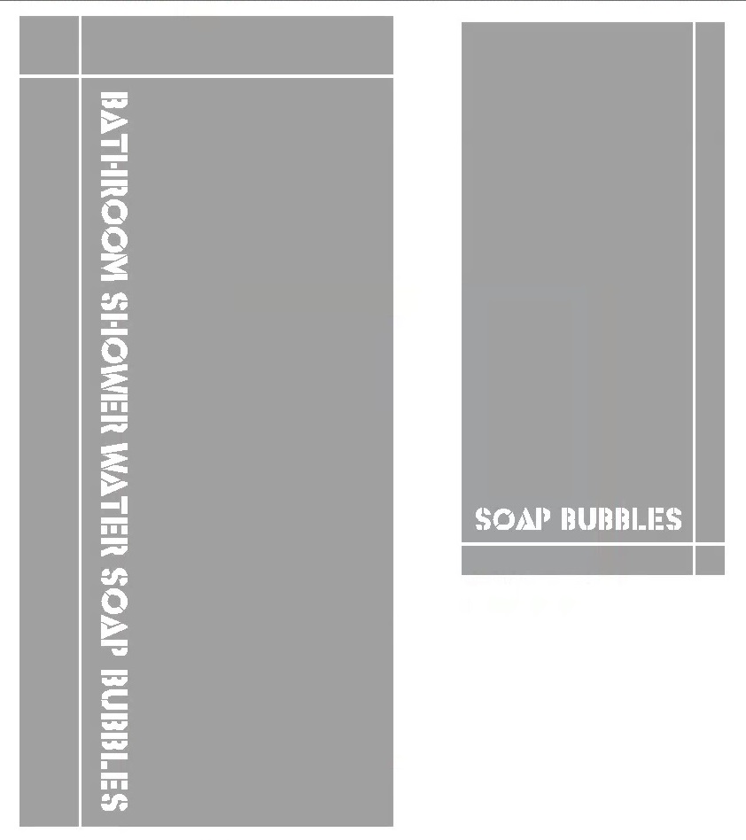 Frosted window film design, shower, bathroom