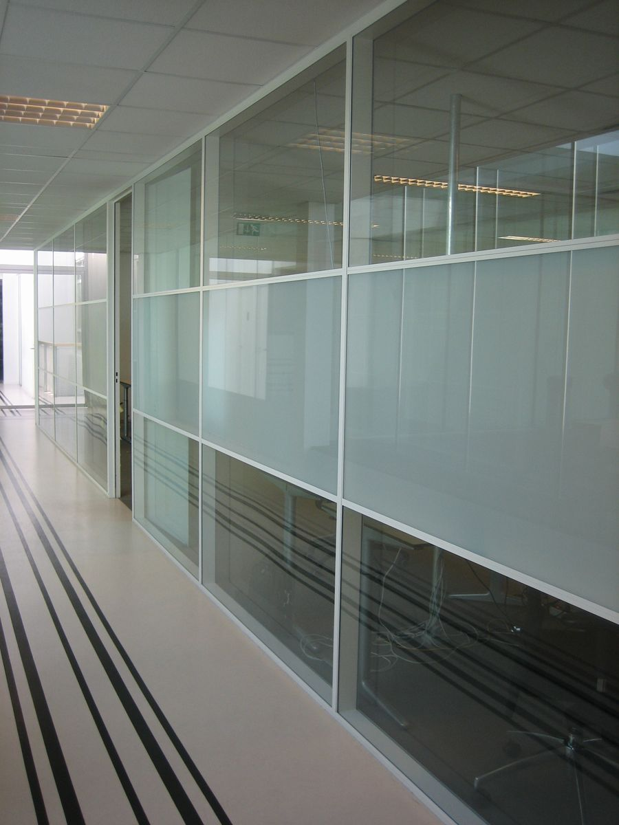 Frosted window film (1) Privacy, office