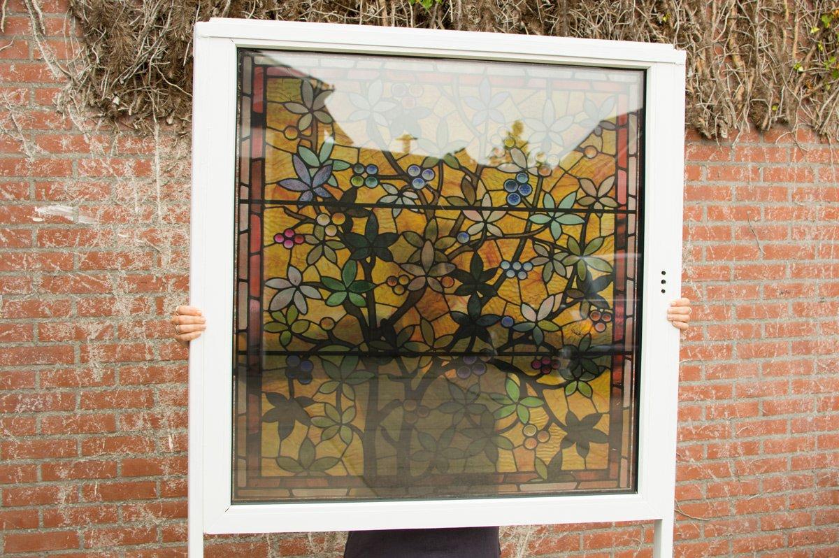 Transparant Window Film Large Nature Applyityourself