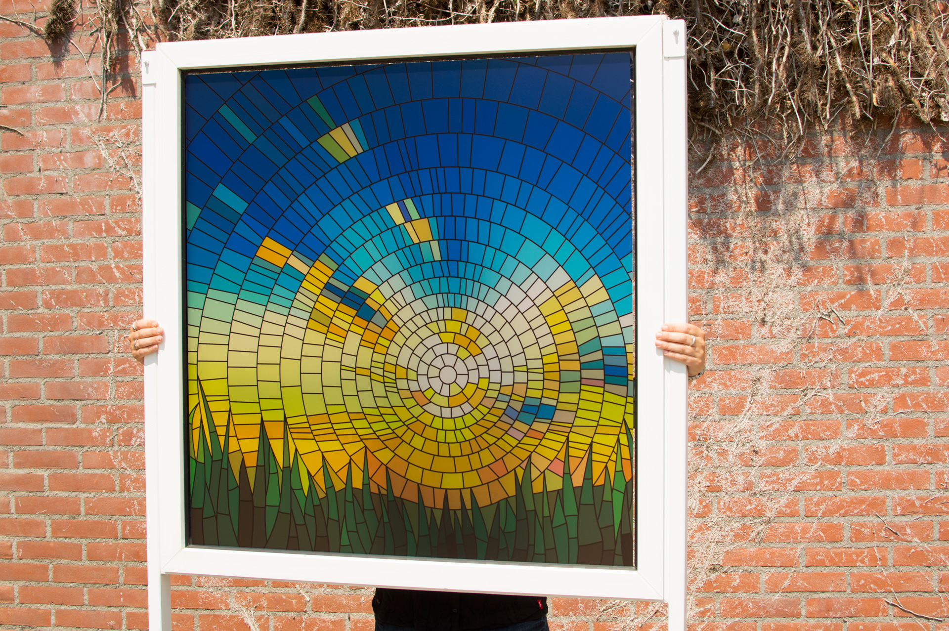 Stained glass window film applyityourself for Glass windows