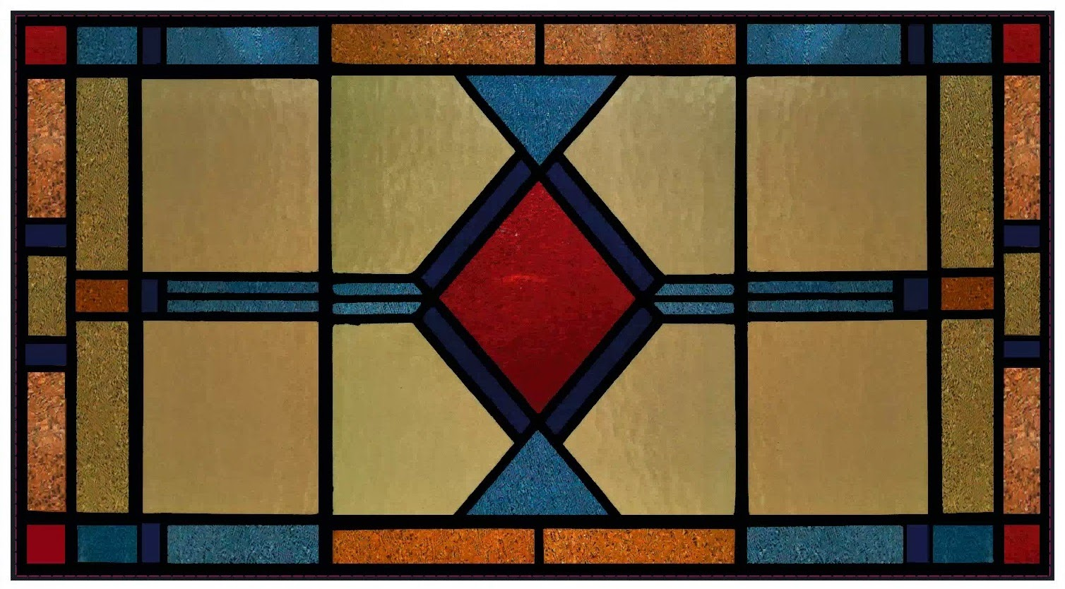 how to make a stained glass pattern from a photo