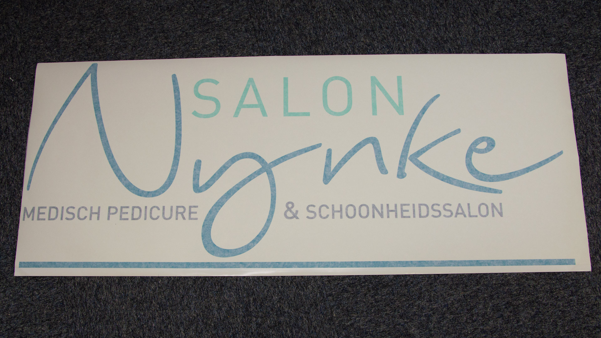 Window Decals (5) logo, multiple colors, with application tape