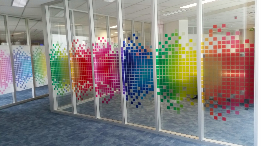 Design custom transparent window film