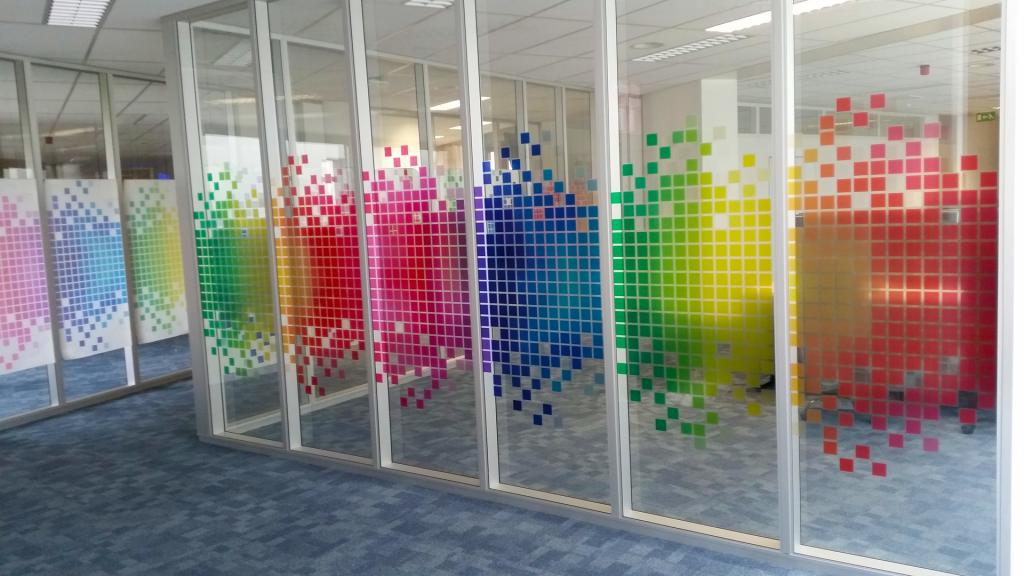 Design custom transparent window film
