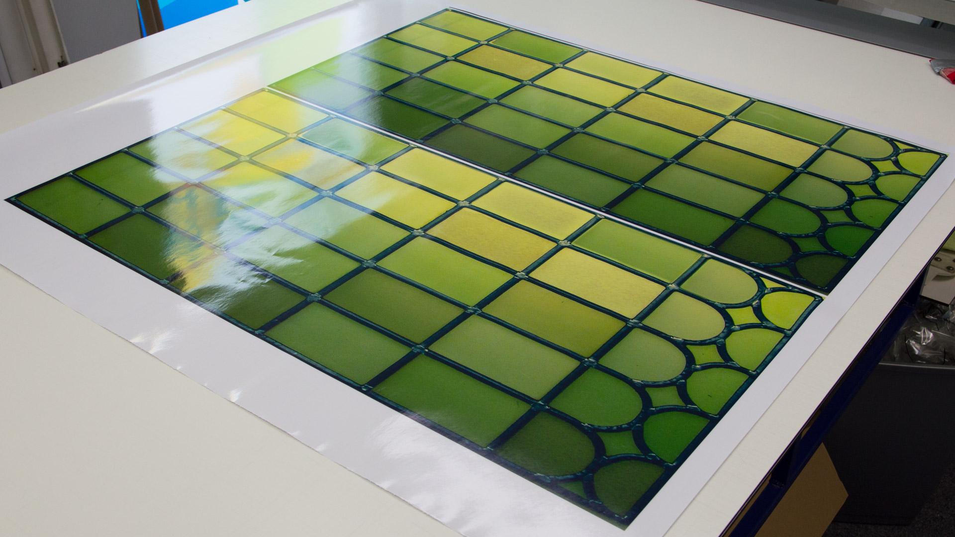 Stained Glass Window Film Applyityourself