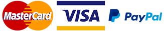 credit card, paypal