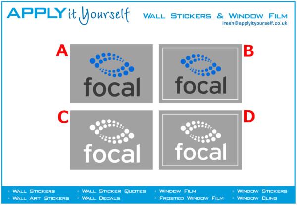 frosted window film, print, cut, logo, border, custom, 2012-000194