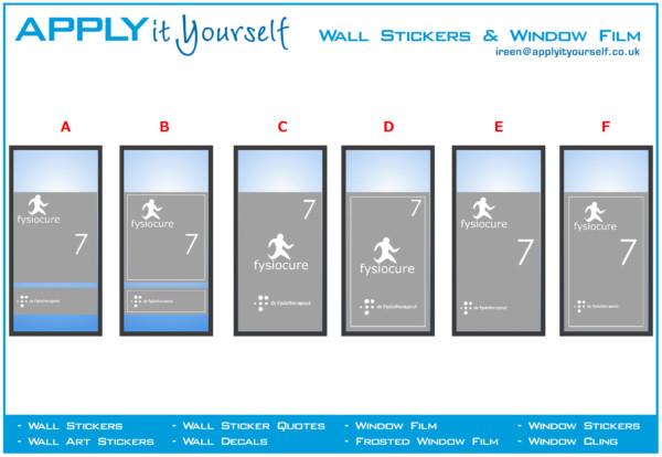 frosted window film, print, logo, cut, company, windows, 2012-000438