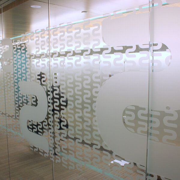 Frosted window film cut (1), custom, frosted, window, film, corridor