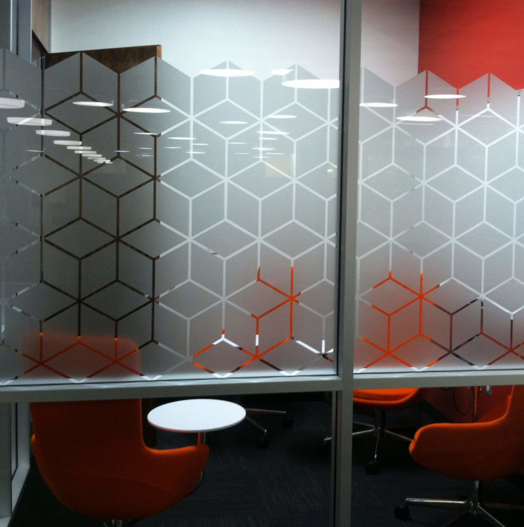 Frosted window film cut (1), custom, frosted, window, film, pattern, privacy, office
