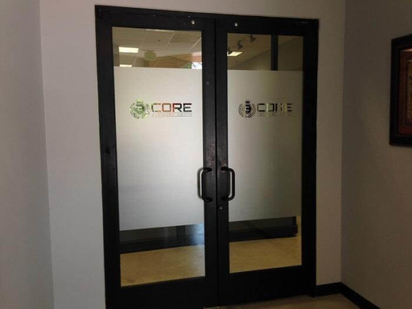 Frosted window film cut (1), custom, logo, door, frosted, window, film