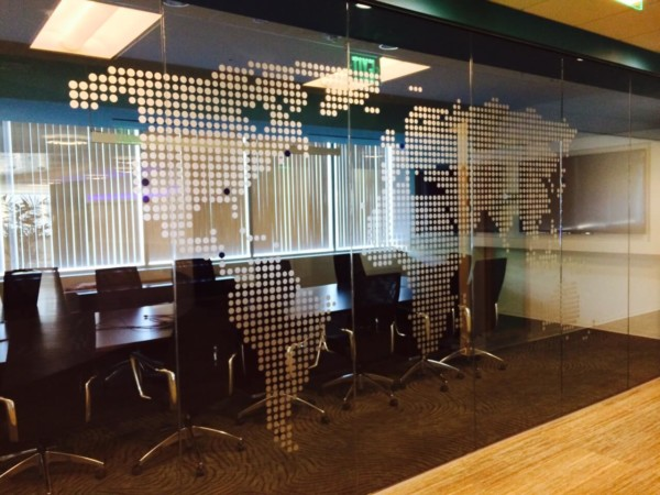 frosted window film cut (1), world, map, frosted, window, film, custom, design
