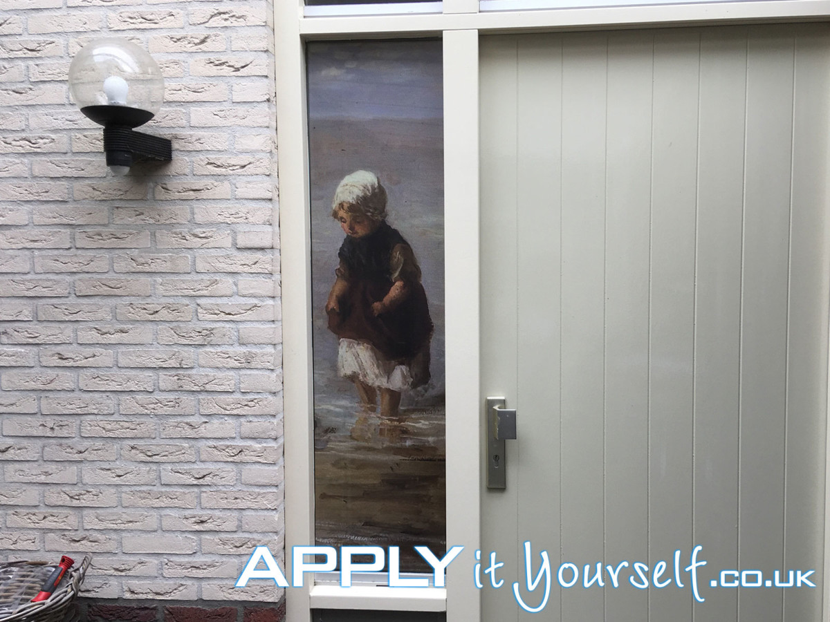 One-way vision, window film, besides, front door, privacy
