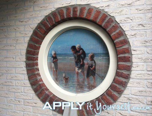 One-way vision, window, round, window film, privacy