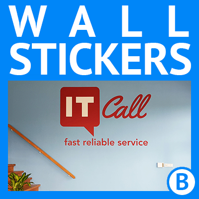 APPLYitYourself | Custom Wall Stickers and Window Film