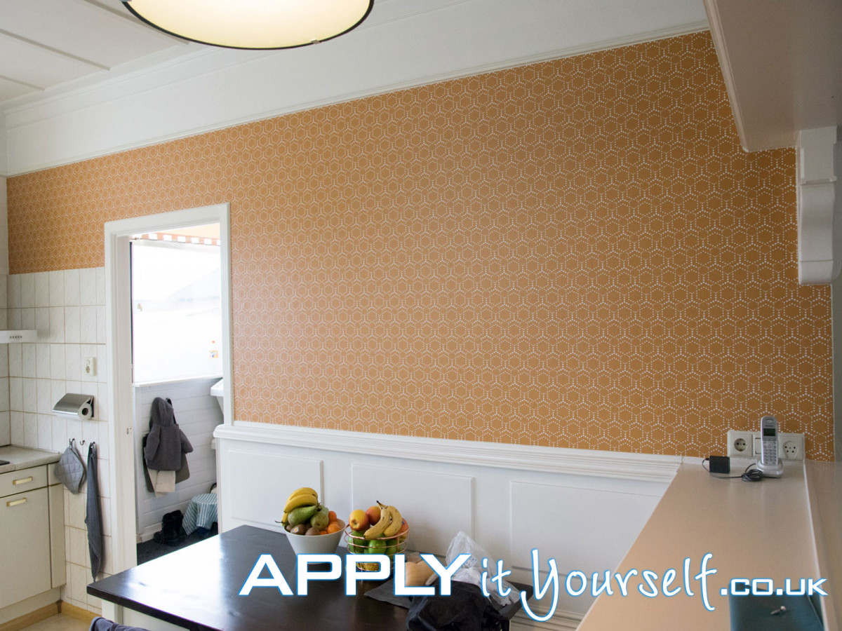 wall mural, sticky, textile, removable, kitchen