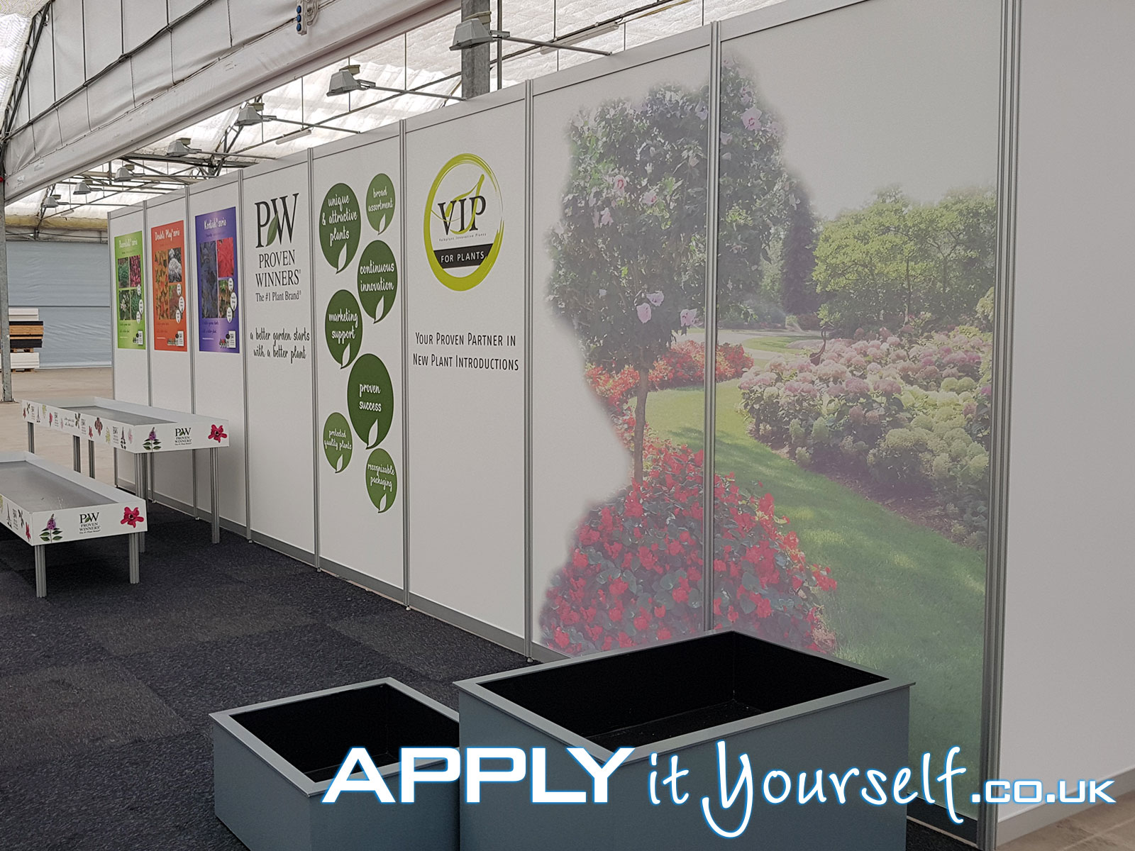 wall stickers, custom, stand, signage, trade-fair, exposition, walls