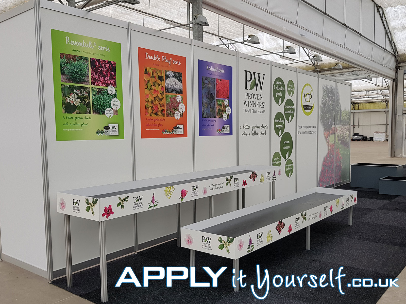 wall stickers, custom, removable, stand, trade-fair, exposition, branding