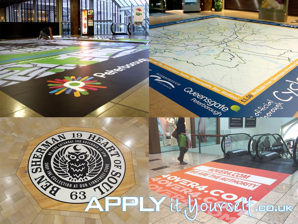floor stickers, floor decals, floor graphics, promotion