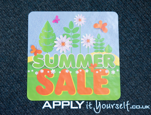 Floor sticker, carpet, summer, sale